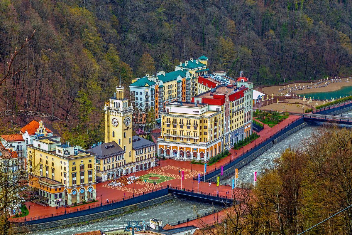 Красная Поляна - вольерный комплекс, Моя Россия