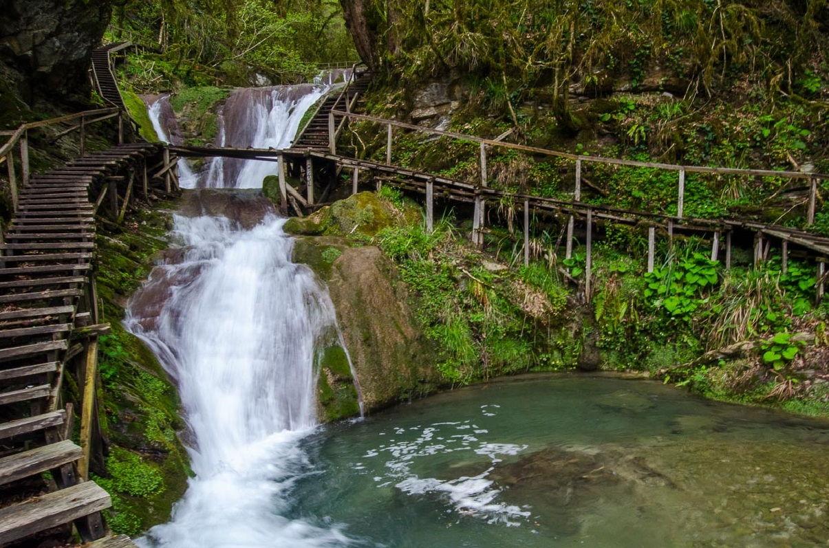 зз водопада + кавказское застолье