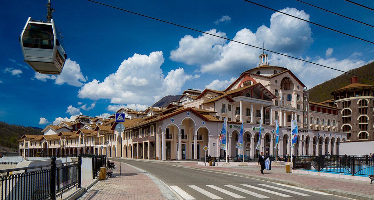 Экскурсия Красная Поляна - 3 курорта