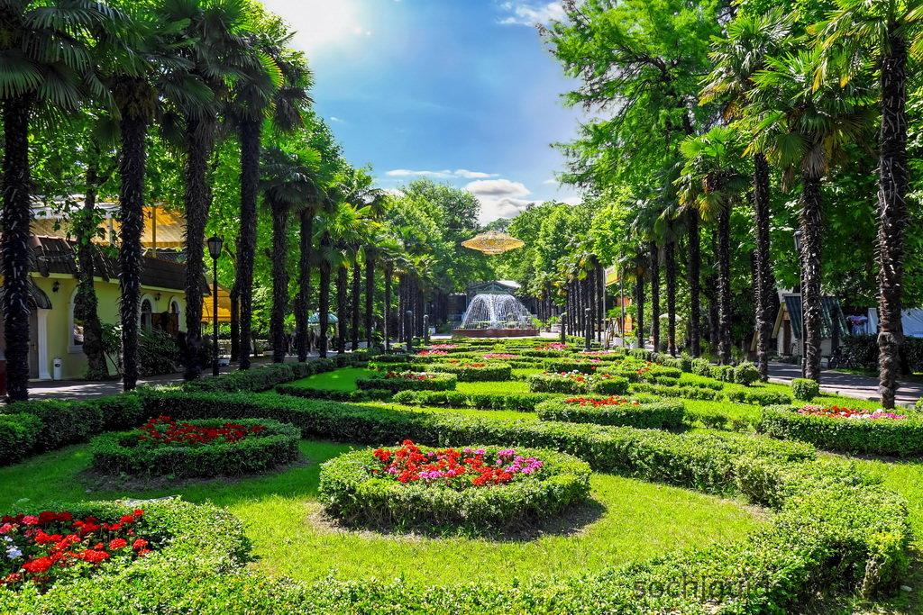 Обзорная экскурсия по Сочи и парку Ривьера